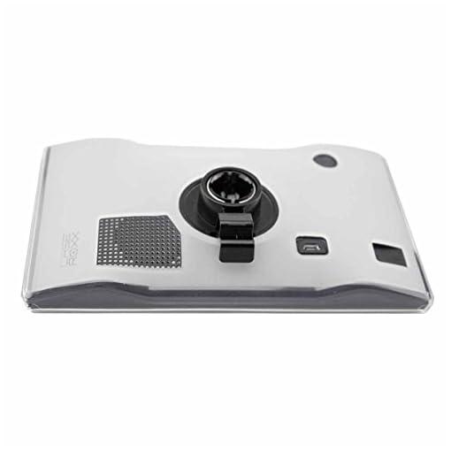 caseroxx GPS-Case per la Garmin Camper 770 LMT-D tasca per i dispositivi di navigazione in transparente.