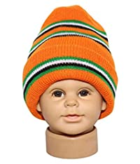 Unisex Multi Color Cap for Age Group Upto 8 Year Pack of 5