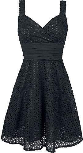 Voodoo Vixen Billie Blush Kurzes Kleid schwarz M