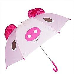 Kiddi Choice 3 D Pop Up Pig Cute Umbrella, Pink