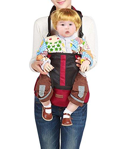 Baby Trage Kindertrage Die Leichte Bauch Und Hüfttrage Babytrage Weinrot