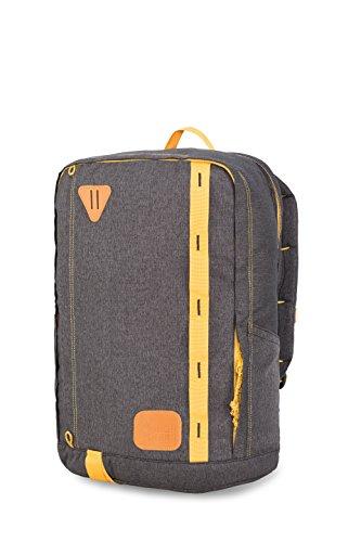 High Sierra quadratisch Pack Rucksack, 106510-2693, schwarz/goldfarben, Einheitsgröße