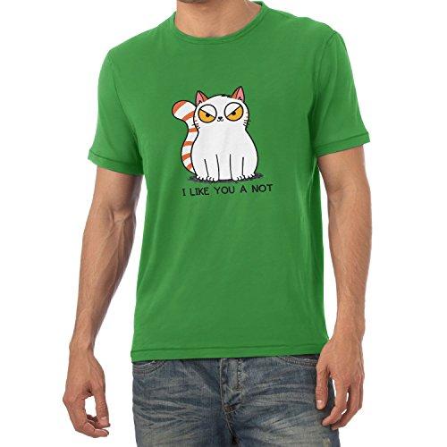 Texlab I Like You a Not - Herren T-Shirt, Größe M, ()