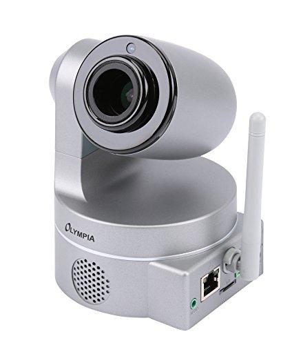 Olympia 5965 - Cámara de vigilancia con Unidad LAN/WLAN integrada, Color Plata
