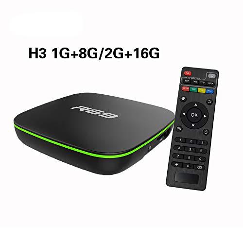 7.1 Smart-TV-Box. Netzwerk-Set-Top-Box Android 1G 8G / 2G16G Eingebauter Flash-Speicher, Unterstützung für SKYPE-Videoanrufe, MSN, Fcebook und andere (Song 4k Tv)