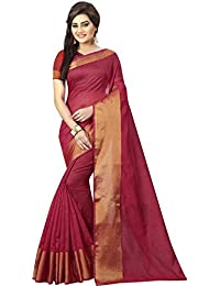 BuyOnn Sarees Women's Clothing Saree For Women Latest Design Wear Sarees Collection In Multi-Coloured Art Silk...