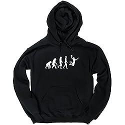 HippoWarehouse Evolución del baloncesto jersey sudadera con capucha suéter derportiva unisex
