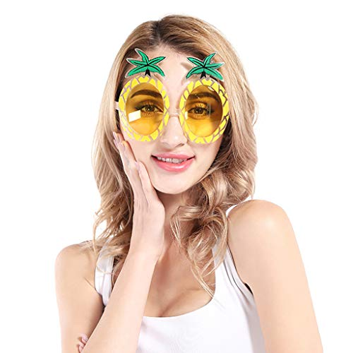 Auto Kostüm Fancy Dress - WooCo Adult Festival Cosplay Brille Funny Crazy Fancy Dress Brille Neuheit Kostüm Party Festival Karneval Sonnenbrille Zubehör für Frauen Damen Männer Herren(A,One size)