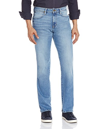 Wrangler Men's Victor Slim Fit Jeans (8907222414177_WRJN6085_32W x 33L_Mineral Blue)  available at amazon for Rs.1198