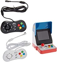Neogeo Mini Pro Player Pack USA Version - Includes 2 Game Pads (1 Black & 1 White) and HDMI Cable - Neo Ge
