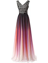 Maxi kleid farbverlauf