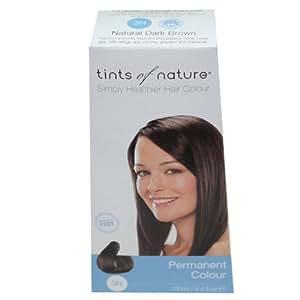 Tints of Nature Organic 3N Natural Dark Brown Permanent Hair Colour 130ml