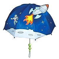 Kidorable U0100SP Kids Children 100% Nylon All Season Umbrella Brolly - Space Hero
