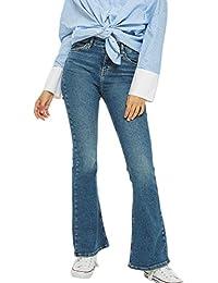 173e48209246 Amazon.es: Pantalones De Campana - Mujer: Ropa