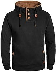 BLEND Alexo Herren Kapuzenpullover Hoodie Sweatshirt mit Teddyfutter aus hochwertiger Baumwollmischung
