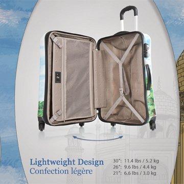 ... 50% SALE ... PREMIUM DESIGNER Hartschalen Koffer - Heys Core Wonders World Wonders - Handgepäck World Wonders