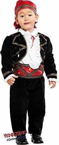 Fancy Me Italienische Herstellung Baby &ältere Jungen SUPER Luxus Wahrsagerin Piraten Karneval Halloween Kostüm Kleid Outfit 0-10 Jahre - 1 Year (Jahr Halloween-kostüme 1)