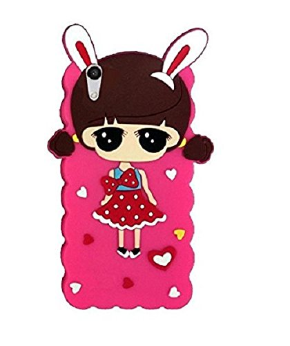 Aarnik Doll Girls Hello Kitty Soft Silicon Back Case Cover for Vivo Y51 / Y51L