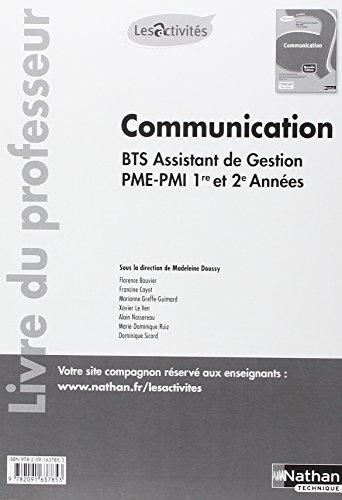 Activité 8 - Communication