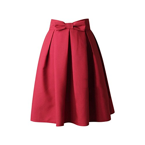 Jolisson Womens Summer A-Line Skirt High Waisted Vintage for sale  Delivered anywhere in UK