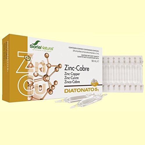 Soria Natural Diatonato 5.1 Zinc-Cobre - 28 Unidades