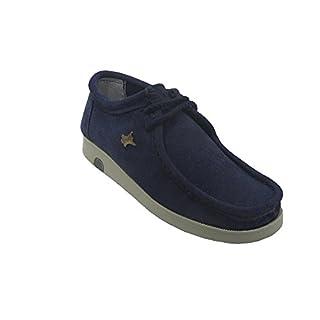 700 - La Auténtica Unisex Adults' Flat, wallabee navy blue Size: 8 UK