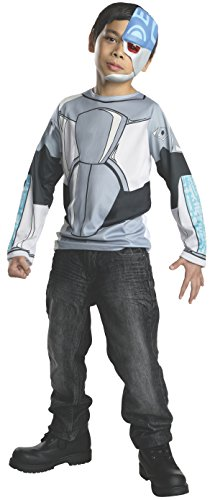 (Rubies Teen Titans Go Cyborg Costume, Child Large by Rubie's)