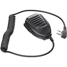 Original de mano BAOFENG UV-5R altavoz-micrófono para radio de banda dual