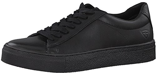 TAMARIS Damen Plateau Sneakers Weiß Black