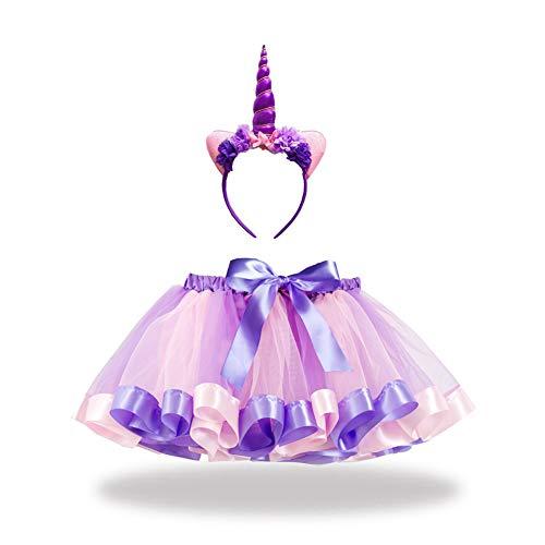 2 3 Elf Kostüm Jahre - CYGGA Kostüm Meerjungfrau Kinder Tutu Kleid Katzenohren Stirnband Geburtstag Party Kostüm Cosplay für Kinder Mädchen 2-7 Jahre alt,11,L
