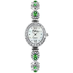 Fashion diamond women watch/Waterproof quartz Bracelet Watch/Simple casual watches-A