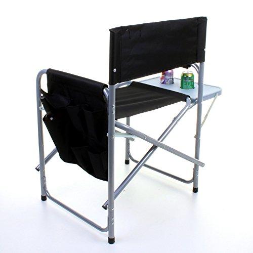 Marko Outdoor Folding Directors Chair Lightweight Portable Fish
