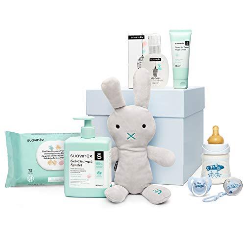 Suavinex - Canastilla para recién nacido. canastilla de regalo para bebé de 0-6 meses. incluye Baby...