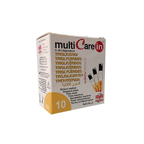 Streifen MultiCare IN Triglyceride–10Streifen