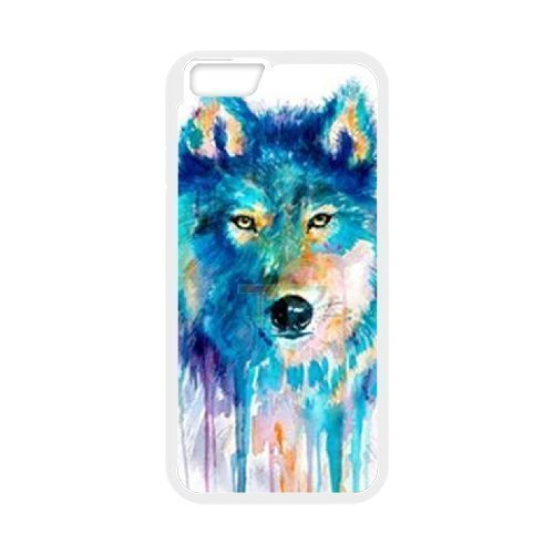 Wolf Customized Case for Iphone6 Plus 5.5, New Printed Wolf Case
