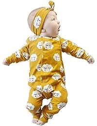 BOBORA Clouds Impression Garcons Filles Coton Pyjama Bebe Four Seasons Sous-vetements Ensembles Enfants