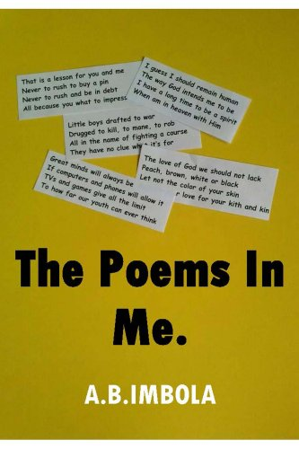 The Poems In Me Ebook A Imbola Amazonin Kindle Store