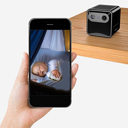 WSXX Anti-Lochkamera, kleine, drahtlose WLAN-Netzwerkkamera, Mobile Fernüberwachung, Mini-Sonde