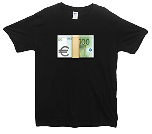 Euro's Emoji T-Shirt Schwarz
