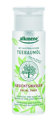 alkmene Teebaumöl Gesichtswasser -Melaleuca gegen Pickel, vegan, 3er Pack (3 x 150 ml)