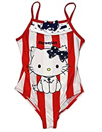 Hello Kitty Official Girls Swimsuit Age 3/8 Years