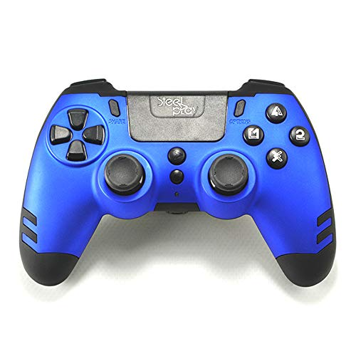 Wireless Controller Metaltech - Blau - PS4/PS3/PC - Kabellos - 4x Paddle - Controller Ps3 Blau Wireless