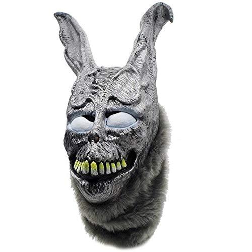 Dodom Funny Donnie Darko FRANK der Hase Maske Latex Overhead Pelz Kostüm Tier Masken Für Party Cosplay, Bild Farbe