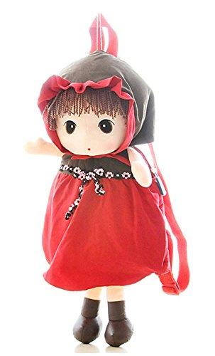 Good Night Cartoon Märchen Mädchen Puppen Plüsch Schule Rucksäcke Bookbags für kleine Kinder Jungen Mädchen (Kleines Mädchen Bookbags)