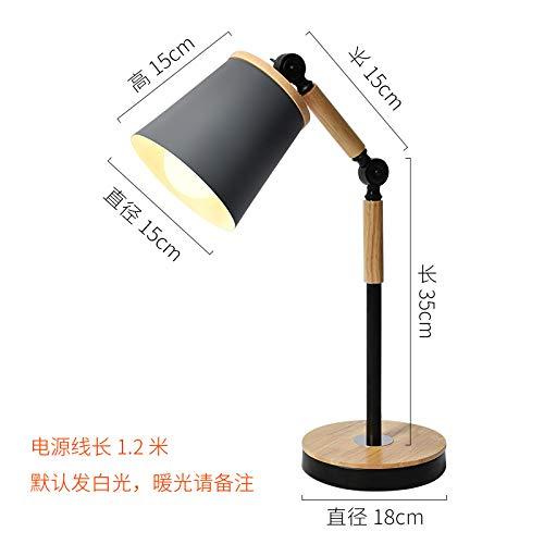 Lámparas infantiles de protección ocular de trabajo gris 5W-LED luz cálida