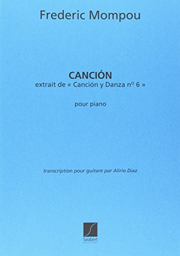 Cancion ( de Cancion Y Danza 6 )