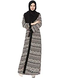 RISTHY Vestido Abaya Musulmana Cardigan Mujeres Largos Musulmán Maxi Vestidos Dubai Batas Turquia Islámica Árabe Kaftan