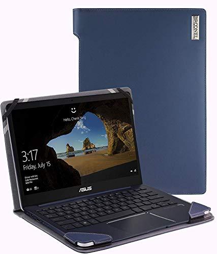 Broonel - Profile Series - Blau Premium Leder Case/Cover Trage Tasche Speziell für Das HP Pavillion...