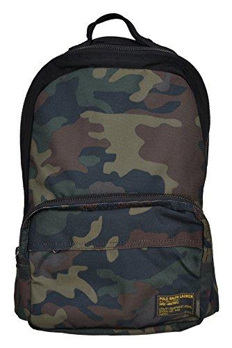 Ralph Lauren Rucksack Military Backpack Camouflage Grün (Ralph Lauren Rucksack)