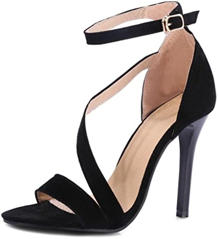 Minetom Donna Primavera Estate Sexy Stiletto Cinturino Caviglia Sandalo Tacco Tacco Scarpe Pompa Scarpe Col Tacco Tacco Parent 239bf9